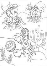 coloring page Ariel, The Little Mermaid