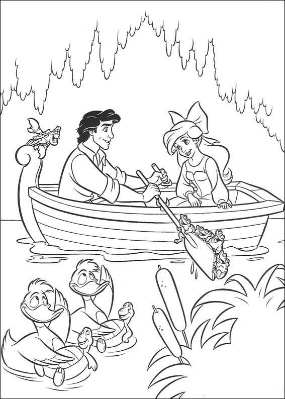 Kidsnfuncom  34 coloring pages of Ariel The Little Mermaid