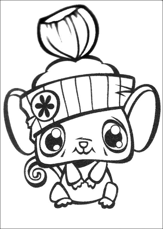 50 littlest pet shop coloring pages - Littlest Pet Shop Coloring Pages