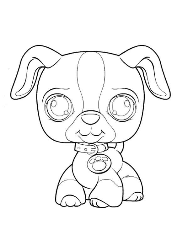 View Images Kids N Funcouk 50 Coloring Pages Of Littlest Pet Shop