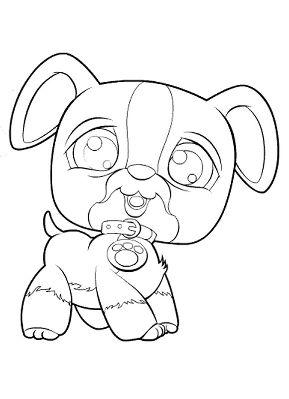 Kids-n-fun.co.uk | 50 coloring pages of Littlest Pet Shop