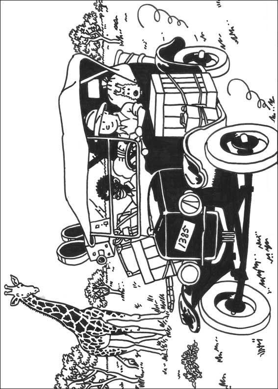 Kids N Fun Com 20 Coloring Pages Of Tintin
