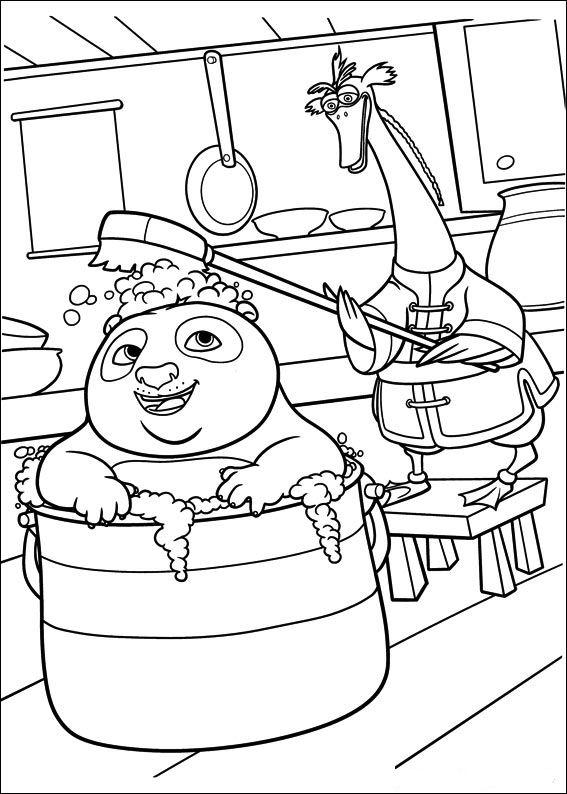 Kids-n-fun.co.uk | 29 coloring pages of Kung Fu Panda 2