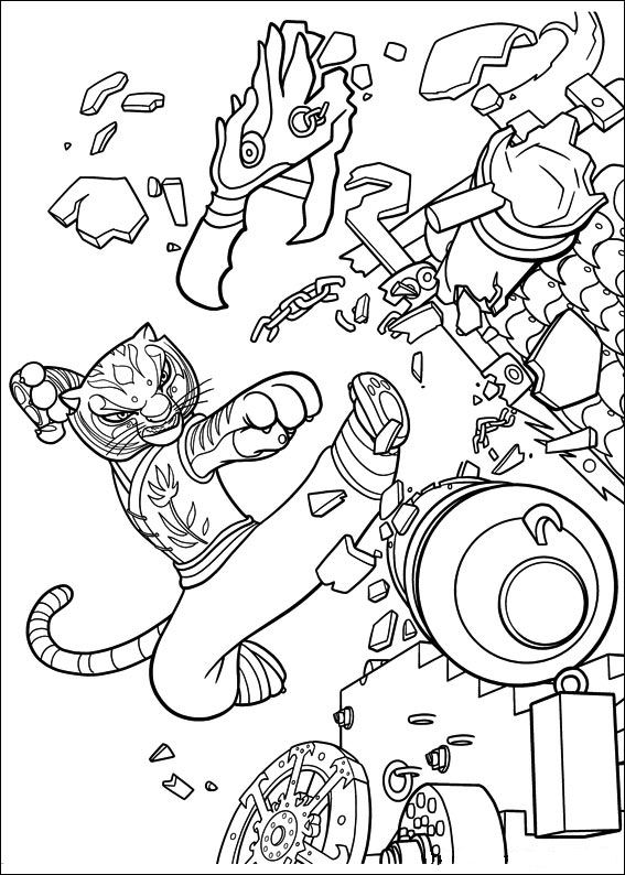 Kids N Fun Co Uk 29 Coloring Pages Of Kung Fu Panda 2