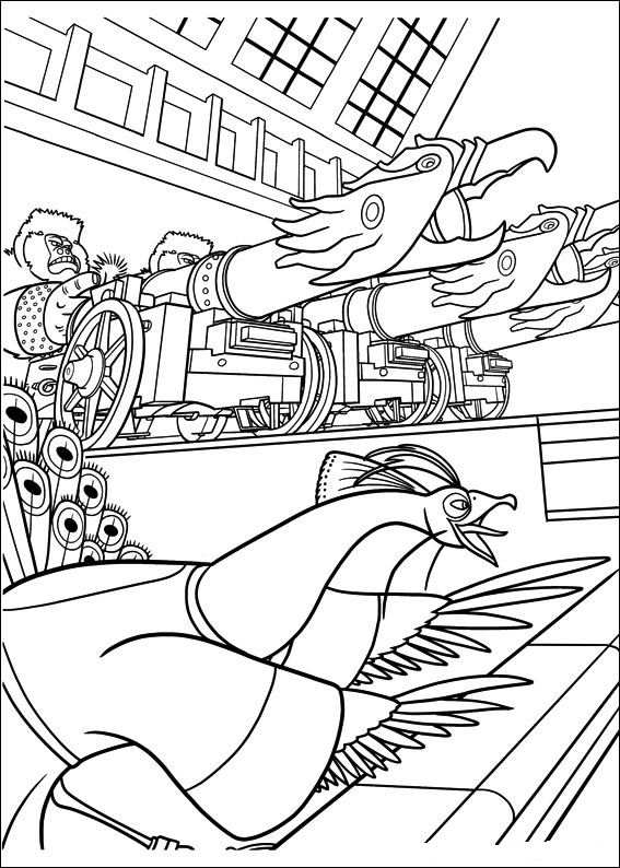 Kids n kung fu panda 2 for Kung fu panda 2 coloring pages