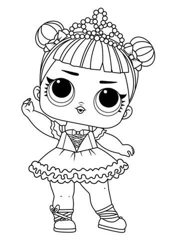 Kleurplaten Poppetjes Maken Kids N Fun Com 30 Coloring Pages Of L O L Surprise Dolls