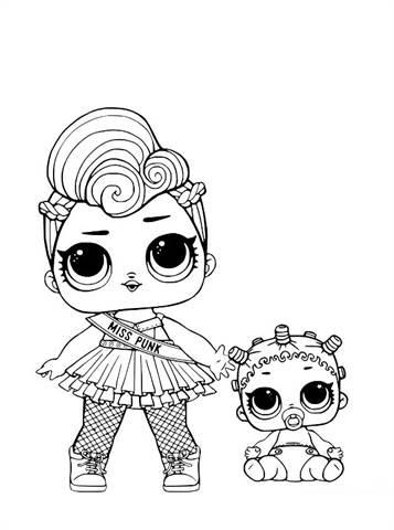 Kleurplaat Zeemeermin Printen Kids N Fun Co Uk 30 Coloring Pages Of L O L Surprise Dolls