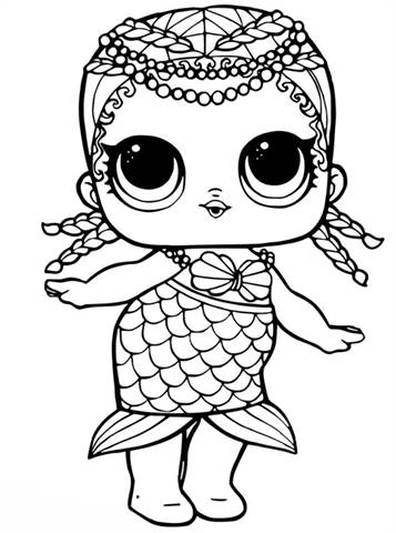 Kids N Fun 30 Coloring Pages Of L O Surprise Dolls