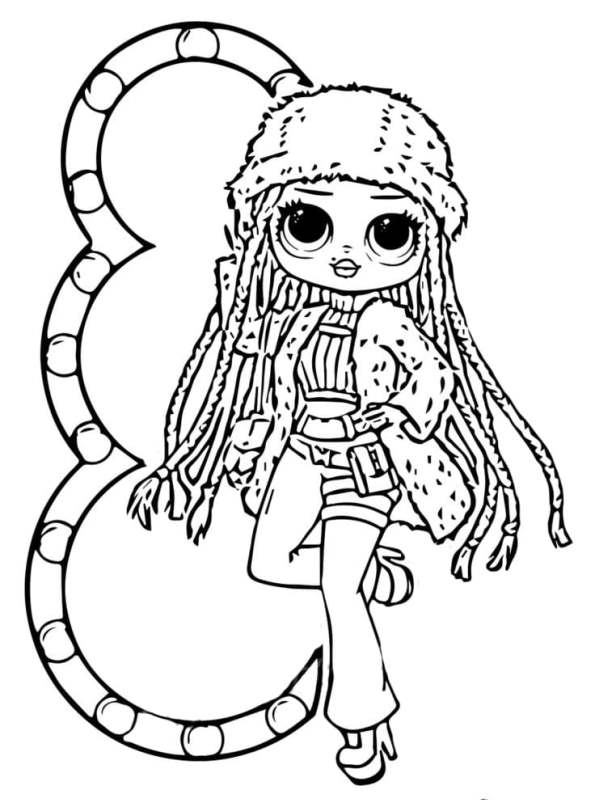 Kids-n-fun.com | Coloring page L.O.L. Surprise OMG dolls ...