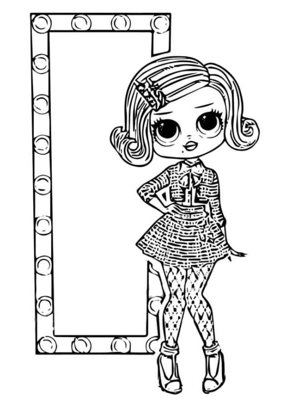 kids-n-fun | coloring page l.o.l. surprise omg dolls