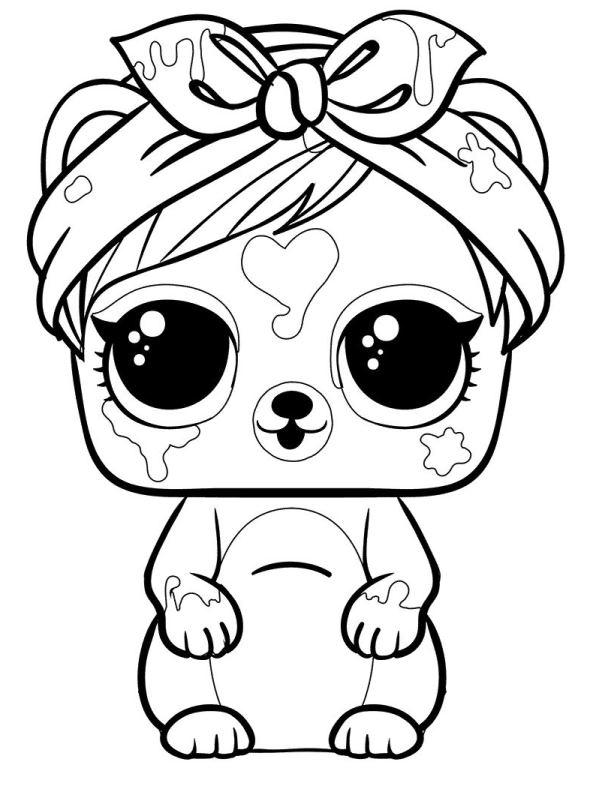 Kids-n-fun.com   Coloring page L.O.L. Surprise Pets Pets ...