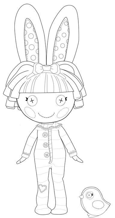 Kids n funcom 16 coloring pages of Lalaloopsy