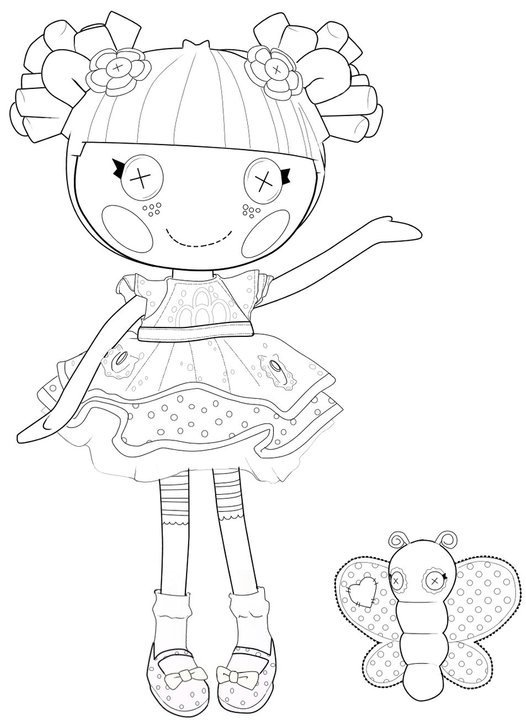lalaa lopsy - Lalaloopsy Coloring Pages