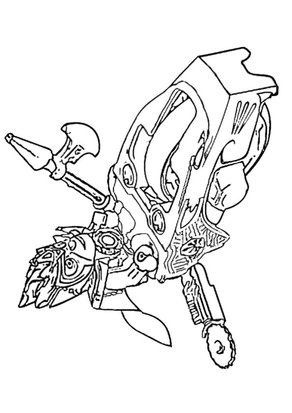 Kids-n-fun.co.uk | 15 coloring pages of Lego Chima
