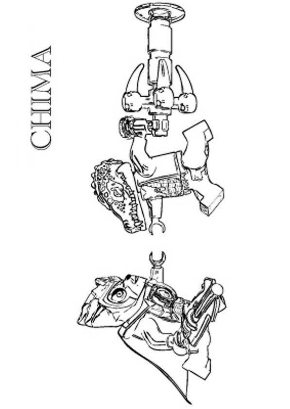 kids-n-fun.co.uk | 15 coloring pages of lego chima - Lego Chima Gorilla Coloring Pages