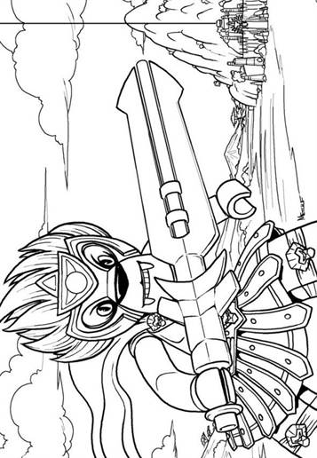 Kids-n-fun.com   15 coloring pages of Lego Chima