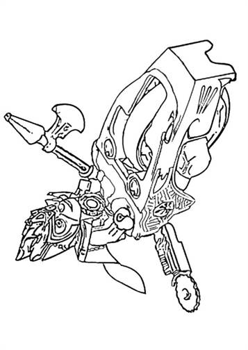 Lego Chima Eagle Eris coloring page | Free Printable Coloring Pages | 504x357