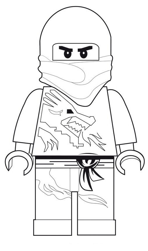 42 lego ninjago coloring pages
