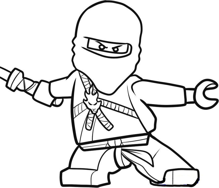 Printable Ninja Coloring Pages ~ Top Coloring Pages