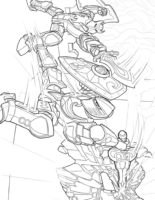 Colouring Pages Lego Avengers