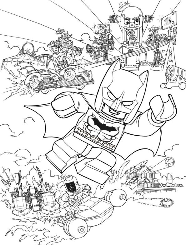 Superb 16 Lego Batman Movie. Coloring Pages