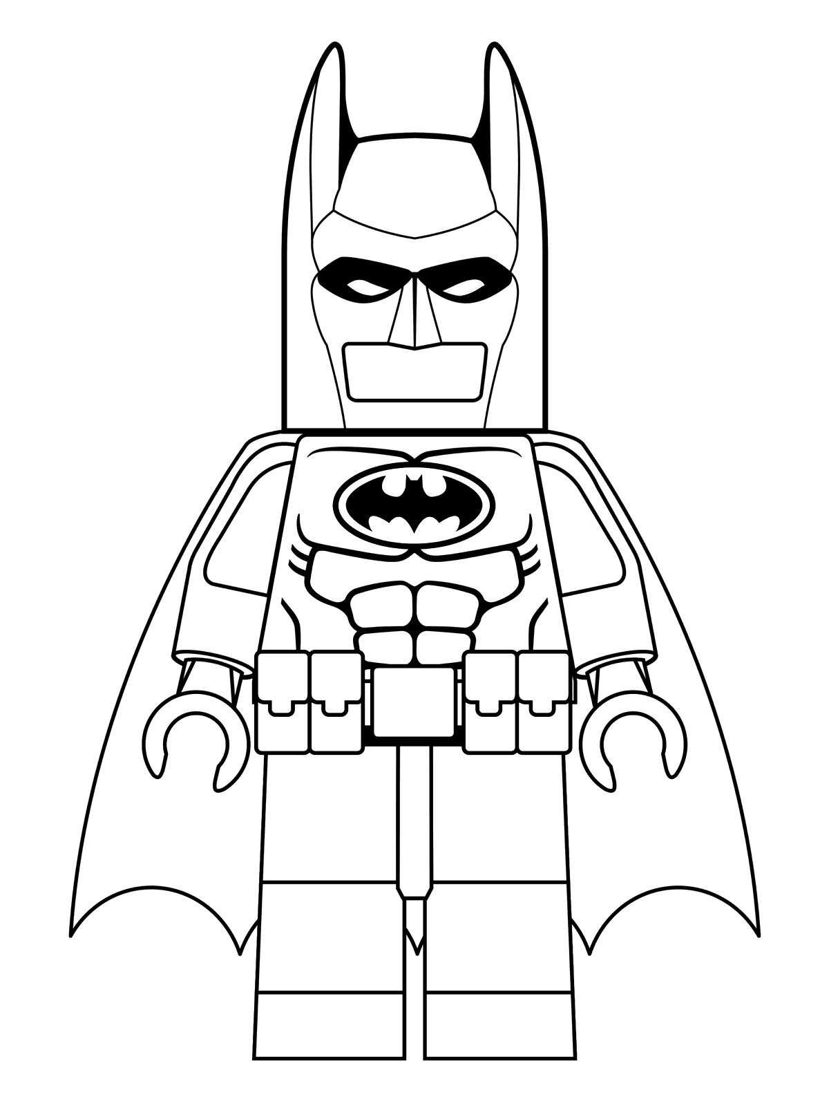Batman Lego Movie Coloring Pages