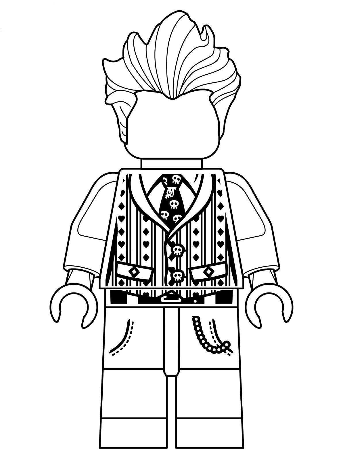 Kids-n-fun.co.uk | 16 coloring pages of Lego Batman Movie