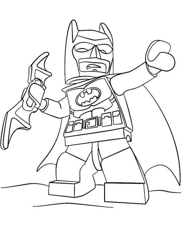 Kids-n-fun.com | 16 coloring pages of Lego Batman Movie