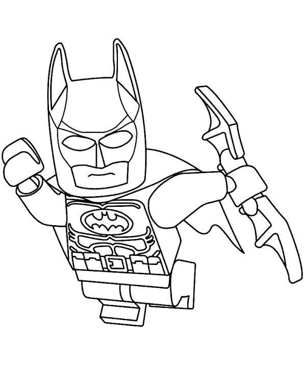 Kids n funcouk Coloring page Lego Batman Movie lego batman 3