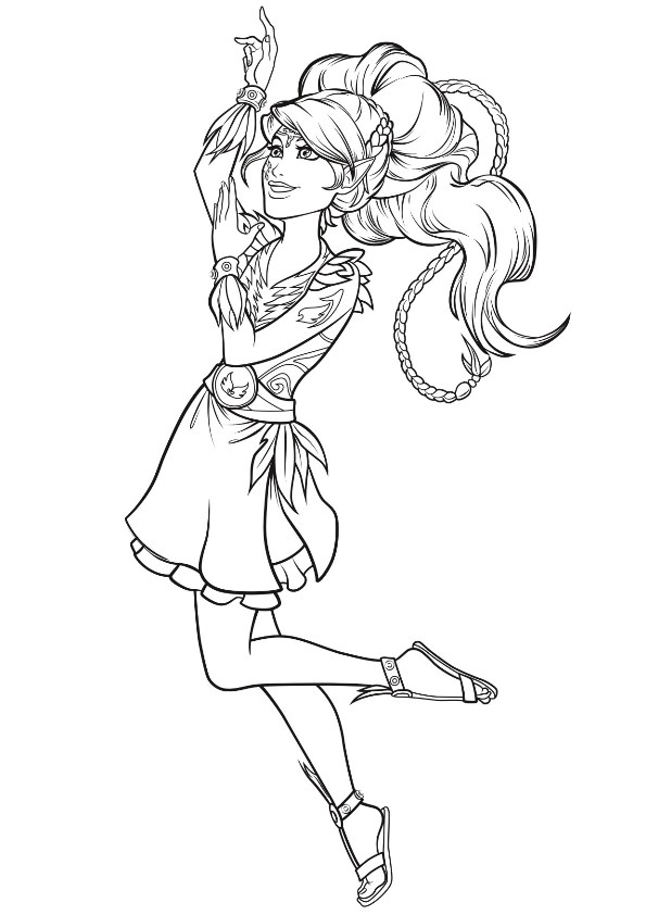 Kids-n-fun.com | 9 coloring pages of Lego Elves