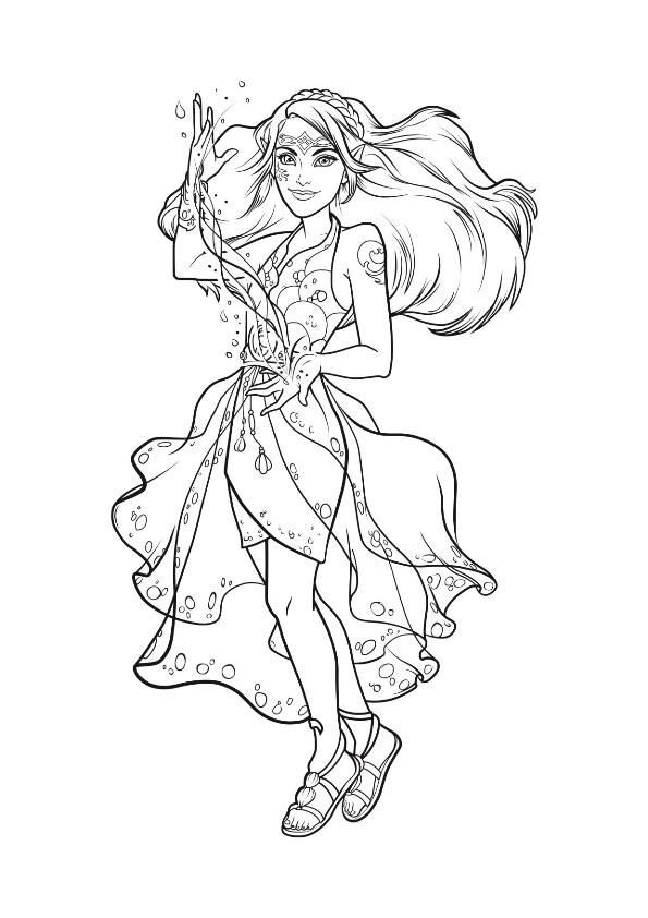 lego elves coloring pages - photo#3