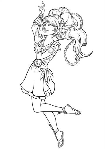 Kids N Fun Com 9 Coloring Pages Of Lego Elves