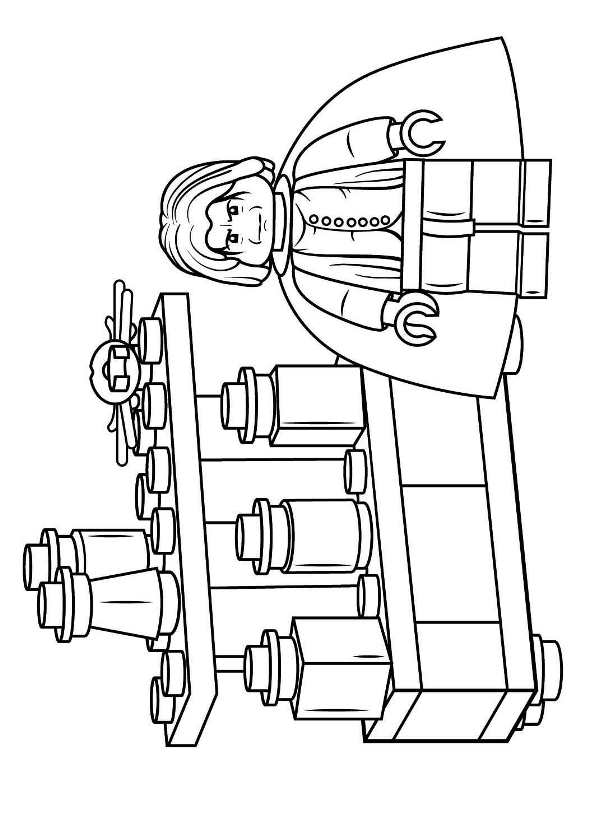 Kids N Fun Com Coloring Page Lego Harry Potter Severus Snape
