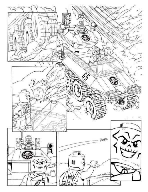 21 New Ausmalbilder Kostenlos Lego Marvel: 15 Coloring Pages Of Lego Marvel Avengers