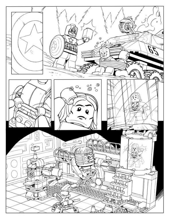Kids-n-fun.co.uk | 15 coloring pages of Lego Marvel Avengers