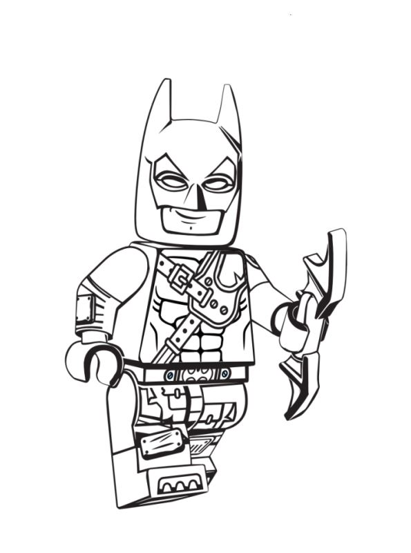 n coloring page lego 2 batman 2