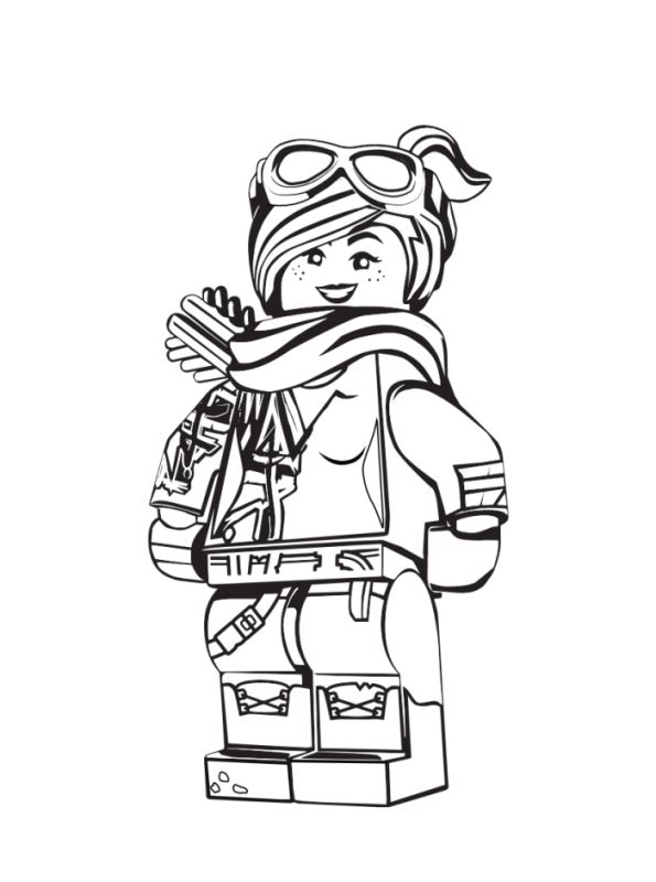 Kids N Fun Co Uk 13 Coloring Pages Of Lego Movie 2