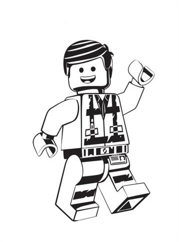 25 Wonderful Lego Movie Coloring Pages For Toddlers | 480x357