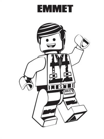 Kids-n-fun.com | 13 coloring pages of Lego movie 2