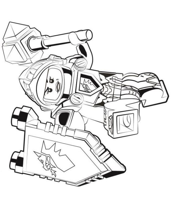 n co uk coloring page lego nexo knights macy