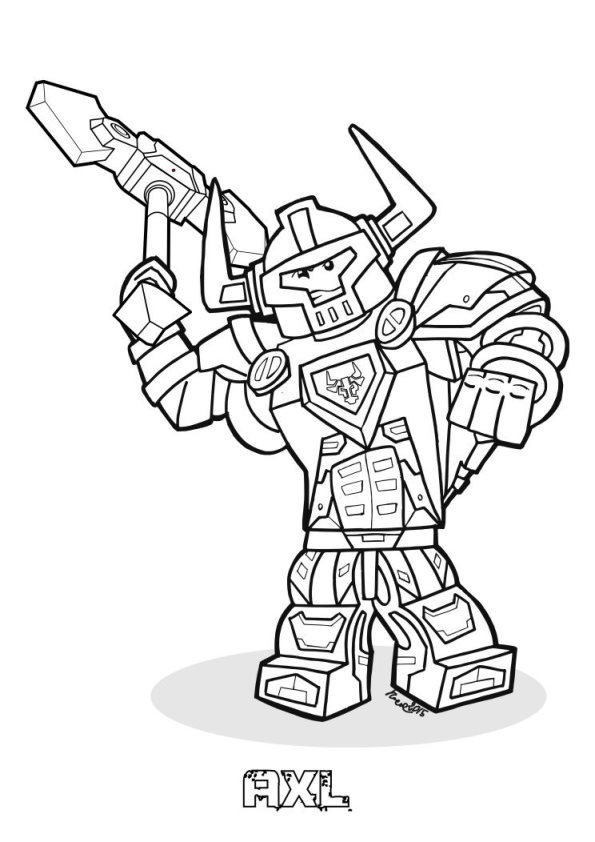Kids-n-fun.com | 29 coloring pages of Lego Nexo Knights