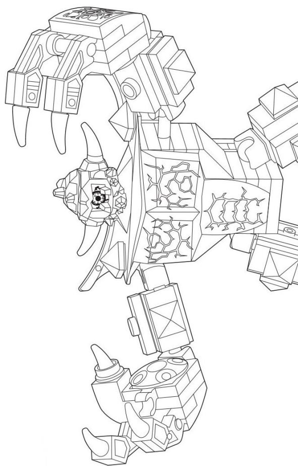 Kids N Fun Com 29 Coloring Pages Of Lego Nexo Knights