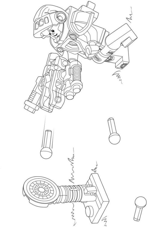 kidsnfun  29 coloring pages of lego nexo knights