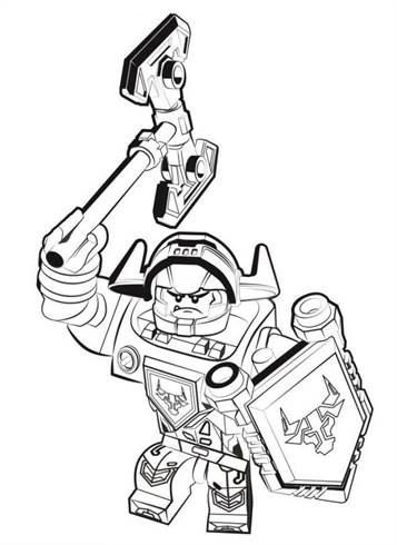lego knight coloring pages   Kids-n-fun.com   29 coloring pages of Lego Nexo Knights
