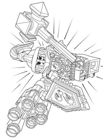 foto de Kids-n-fun.com | 29 coloring pages of Lego Nexo Knights