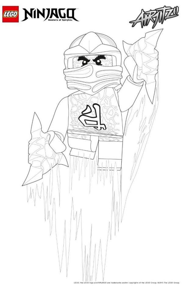 42 Lego Ninjago Coloring Pages