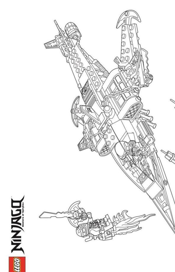 Kids N Fun Co Uk 42 Coloring Pages Of Lego Ninjago