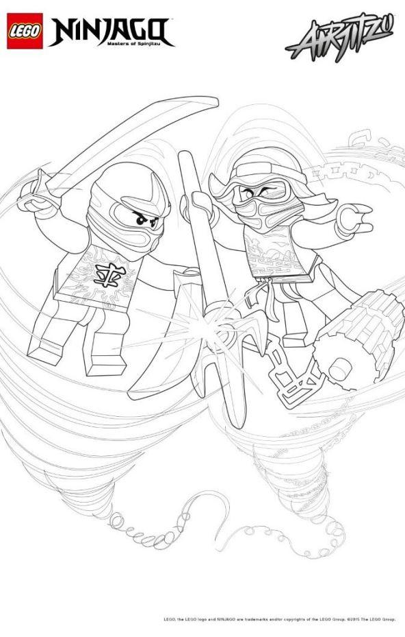 new ninjago coloring pages - photo#31