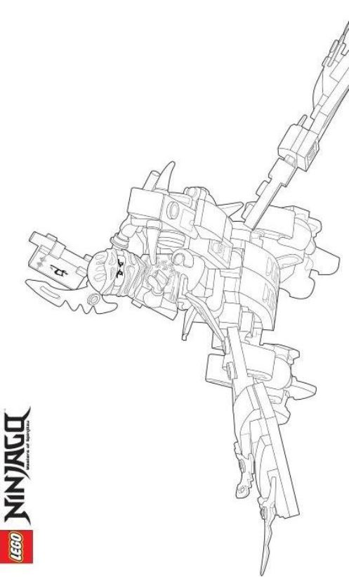 Lego Ninjago Rebooted Coloring Pages