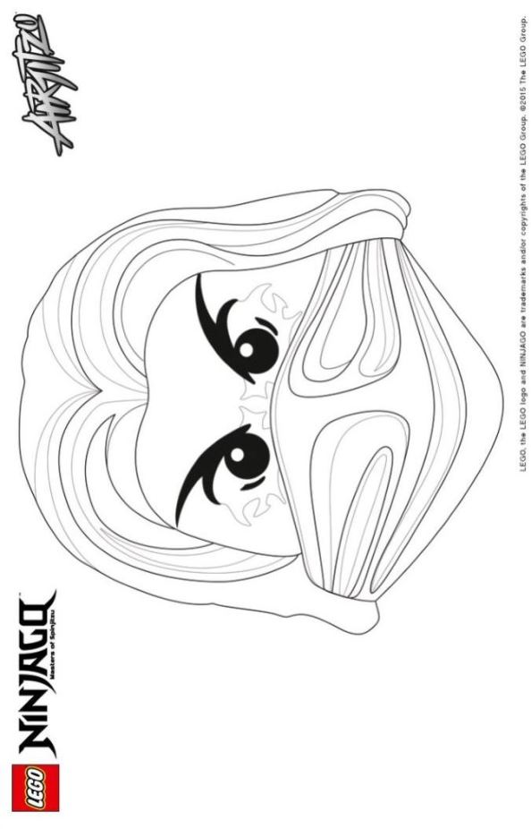 HD wallpapers ninja mask coloring pages